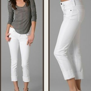 Citizens of humanity Dani cropped cuffed jeans